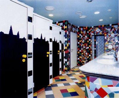 skyline kunst rastst tte illertal ost w c da und w c he. Black Bedroom Furniture Sets. Home Design Ideas